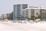 The Crescent beach on Siesta Key Florida