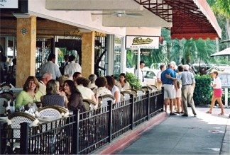 The Columbia Restaurant on St Armands Circle off Sarasota Florida