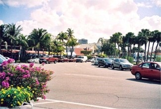St Armands Circle on St Armands Key Florida