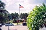 St Armands Circle Park near Sarasota Florida