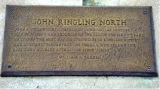 St Armand Circle Ring Of Fame John RIngling North