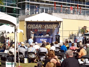 The Cigar Dave radio show live at the Tampa Cigar Fest