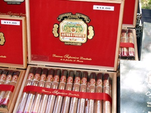 Arturo Fuente cigars for sale at the Tampa Cigar Fest