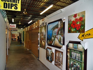 All kinds of items at the Dome Flea Market in Venice Florida