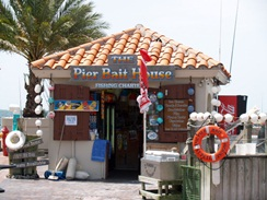 bait shop at the pier st pete florida