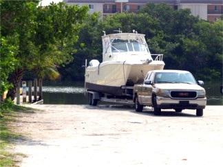 Turtle Beach Lagoon Boat Launch Ramp