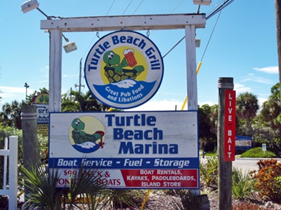 Turtle Beach Grill at south Siesta Key