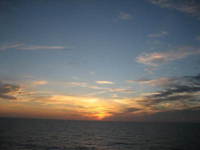 Siesta Key Florida Sunset at Turtle Beach