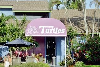 Turtles Restaurant entryway Siesta Key Florida