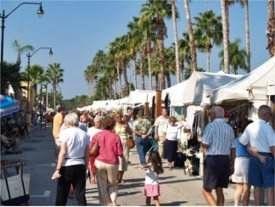 Historic Downtown Venice Florida Annual Art Fest
