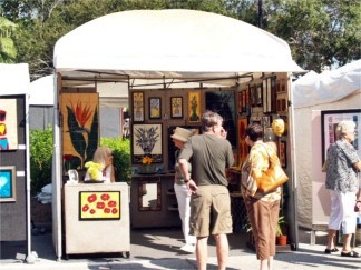 Historic Downtown Venice Florida Art Fest