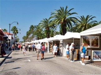 The Venice Art Festival in Venice Florida