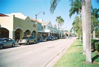 Venice Avenue in Venice Florida