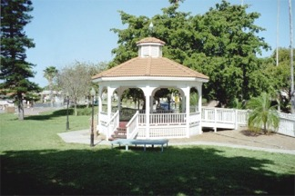 The Gazebo in Centennial Park Venice Florida
