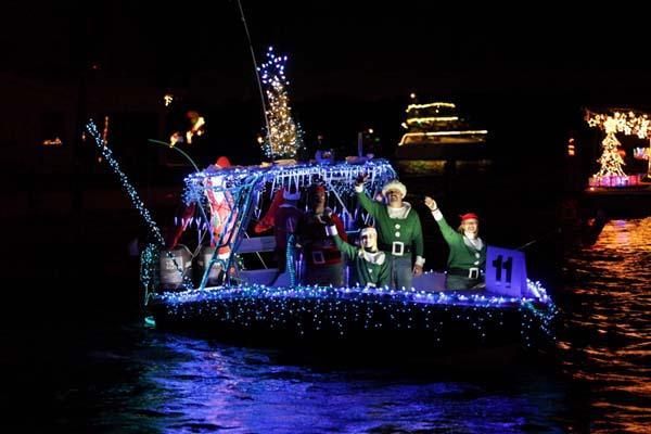 Venice Holiday boat parade