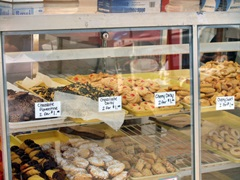 Bakes pastries and cookies at the Italian Feast in Venice Florida