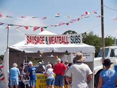 The Venice Italian Feast with sausage and meatballs