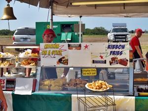A food booth at the Venice Italian Feast