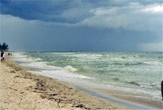 Hurricane Frances off Nokomis Beach 2004