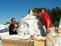 Annual Siesta Key master sand sculpting contest