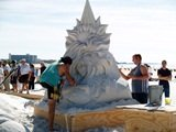 Siesta Key Crystal Master Sand Sculpting Competition