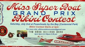 Sarasota grand prix fest sxy bikini contest sign