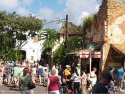 The African Village Trading Post at Disneys Animal Kingdom Orlandp