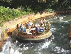 Kali river rapids at Disneys Animal Kingdom Orlando