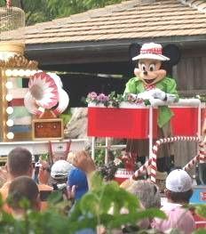 Mickey's jammin jungle parade at Disneys Animal Kingdom Orlando