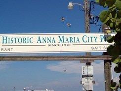 Anna Maria Florida City Pier Entry