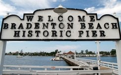 The Pier at Historic Bridge Street Bradenton Beach Florida