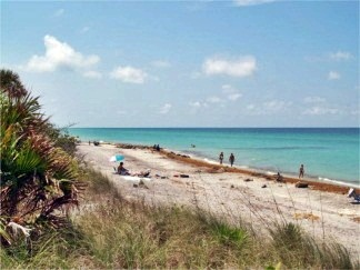 Another view of Caspersen Beach in Sarasota County