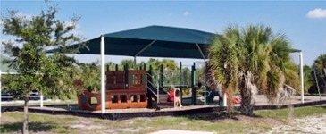 Playground at Caspersen Beach Park