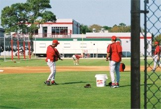 Cincinnati Reds Spring training practice