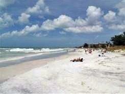 Manatee Counties Cortez Beach on south Anna Maria Island Florida