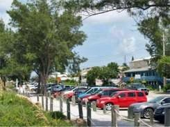 Street side parking at Cortez Beach Florida