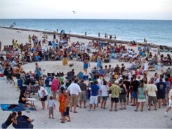 Drum Circle at Nokomis Beach