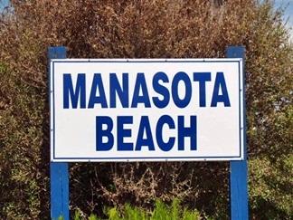 Manasota Beach Florida Sign