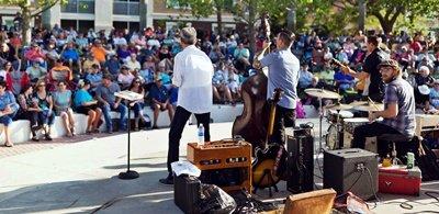 Music in the Park at the Bradenton Riverwalk