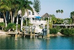 Casey Key House on the bay