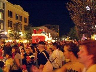 Santa on Main Street at the downtown Sarasota Holiday Parade