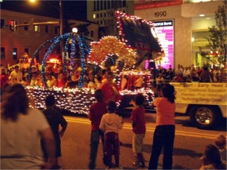 Sarasota Holiday Parade on downtown Main Street