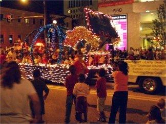 Sarasota Holiday Parade on downtown Main Street