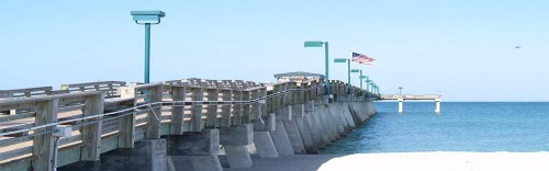 Venice Florida fishing pier