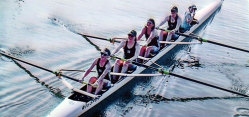 Girls Rowing team at Sarasota's Benderson Park