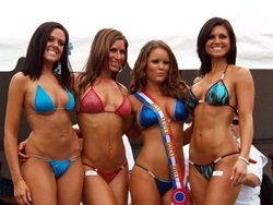 Sarasota Bikini Contest Girls