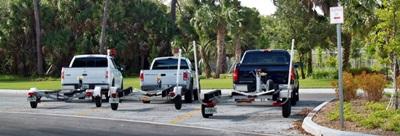 Blackburn Point Parks Boat Trailer Parking lot