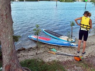 Blackburn Point Park kayak launch