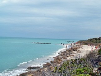 Caspersen Beach Venice Florida Looking North