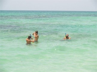 Snorkelling at Crescent Beach Point of Rocks